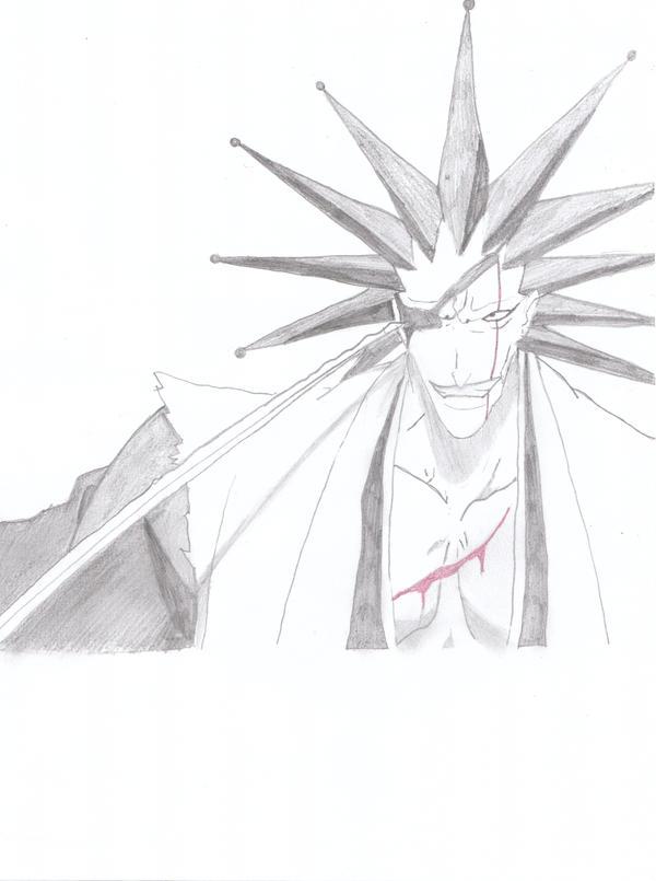 zaraki kenpachi wallpaper. Zaraki Kenpachi by ~Amaya-hime