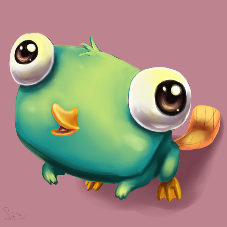 Perry the cute platypus by pink shimmer on deviantart perry the cute platypus by pink shimmer voltagebd Images