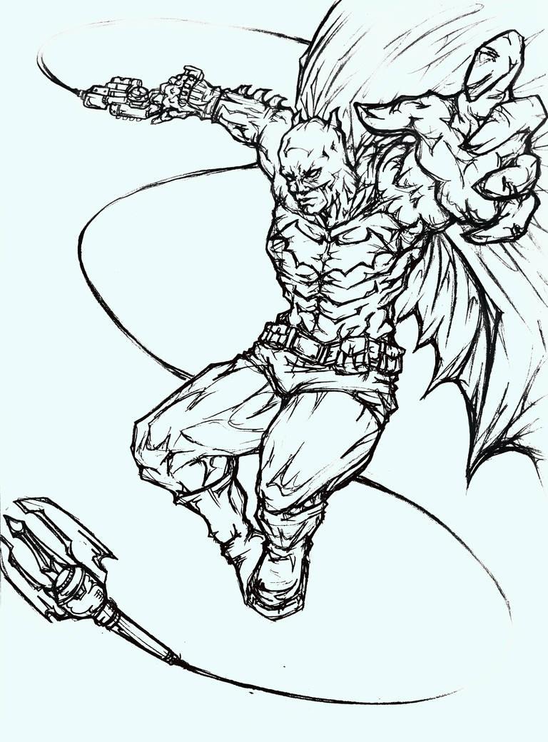 Batman grappling gun by knuckel88