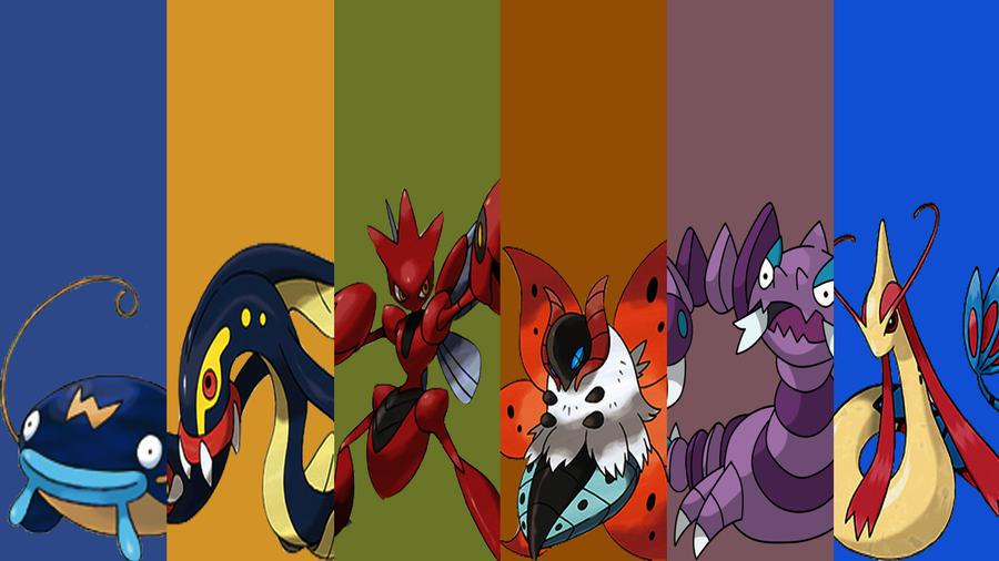 Pokemon Black 2 Team by immortal-spud-thief