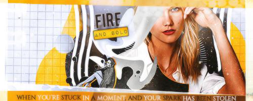 Fire N Gold by its-raining-art