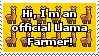 Official: Llama Farmer stamp by pencilandpaperaddict