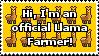 Official: Llama Farmer stamp by pencilandpaperaddict