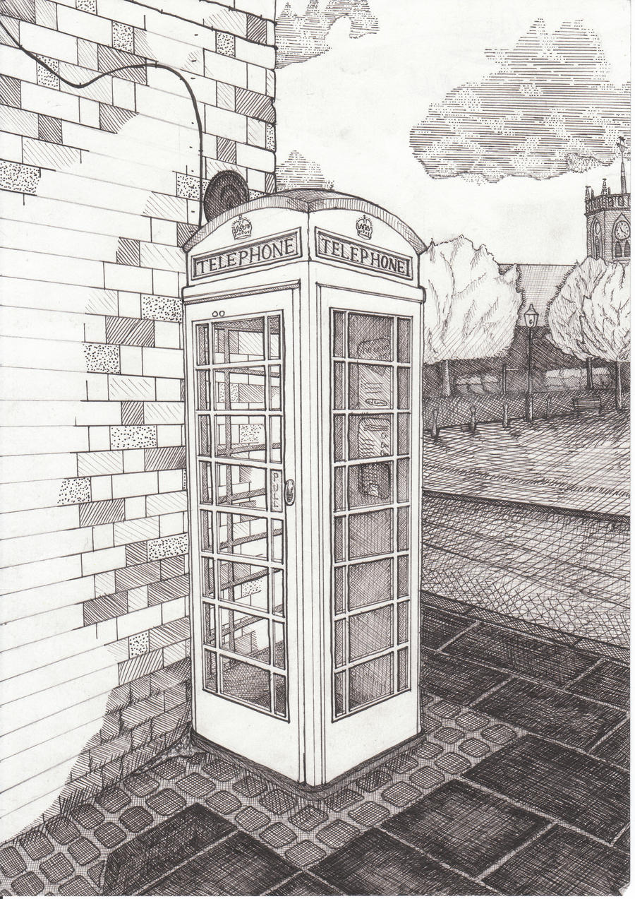 black pugs how to draw a telephone box you