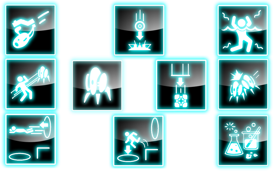Portal Icons 2.0 by WinryBaby