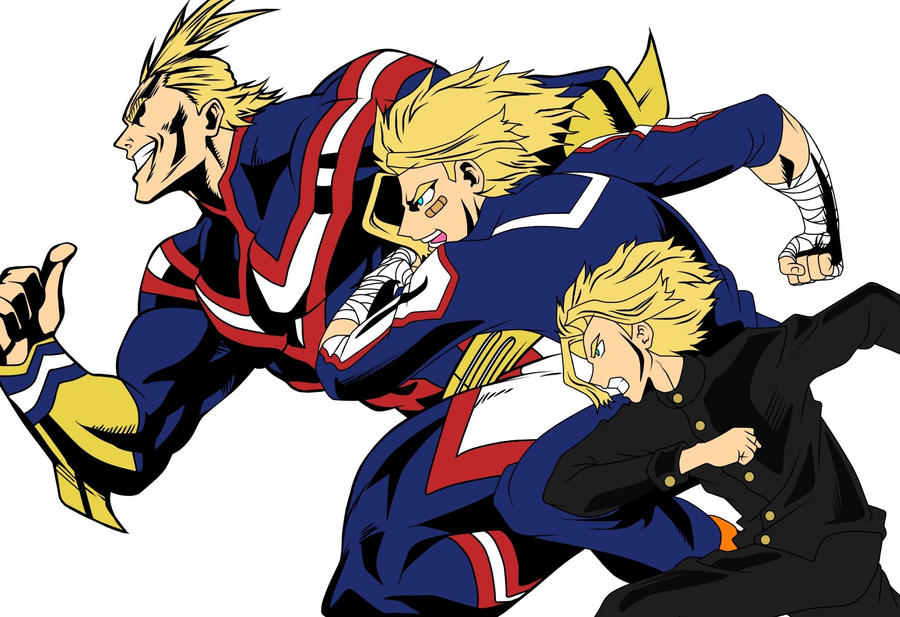 All Might by Alex6556