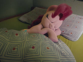 Silly Pony Stole My Bed by TrombonyPonyPie