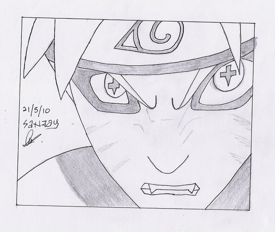 naruto sage mode eyes. Naruto - Naruto Sage Mode by