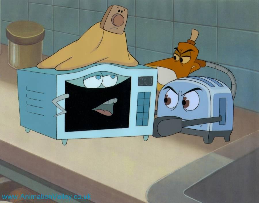 Brave Little Toaster Cel By Animationvalley On Deviantart
