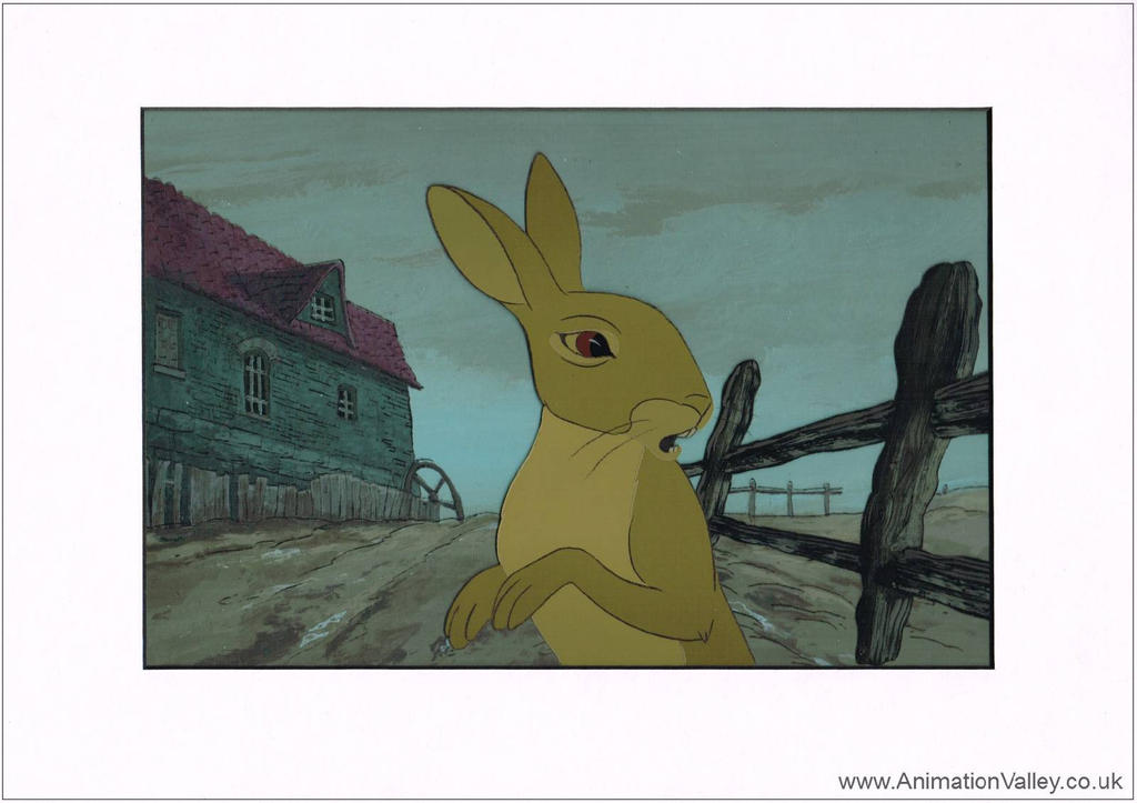 Watership Down Cel by AnimationValley