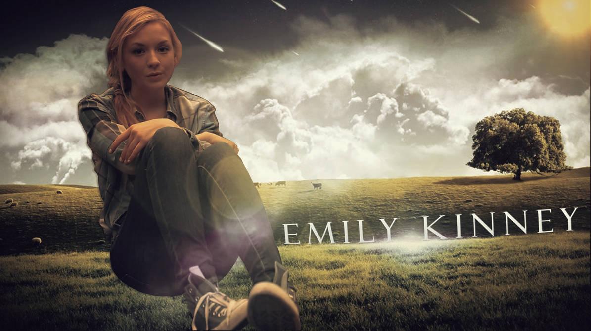 Emily Kinney Wallpaper By Jxemples On Deviantart