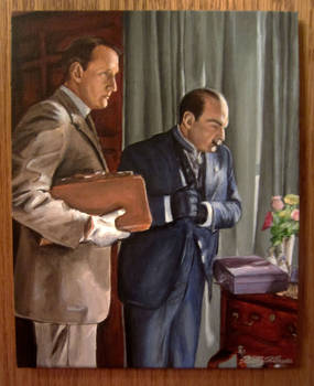 Dispatch case #3: Hastings and Poirot