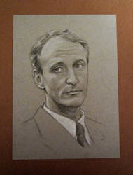 Hastings - pencil and pastel by auggie101
