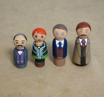 Poirot peg people