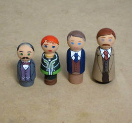 Poirot peg people