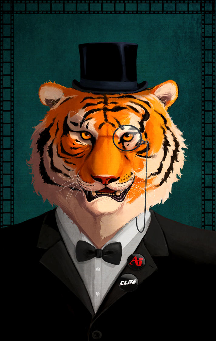 Fancy Tiger by The-Tadpole