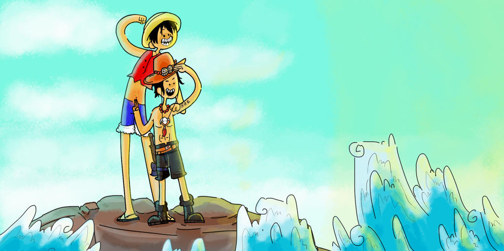 [StyleSwap Challenge] One piece X Adventure time by ThetinyPolo