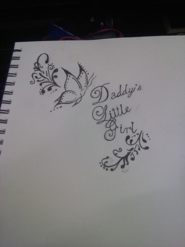 daddys-girl daddys girl tattoo idea by pinkjack19 ...