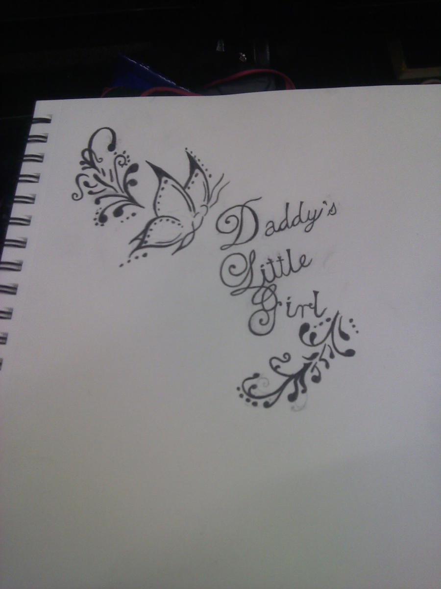 Pin daddy s little girl inspirational quote tattoos for Daddys little girl tattoos
