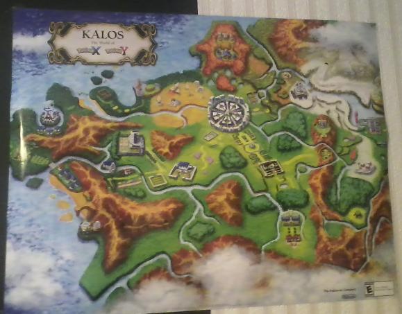 kalos region pokemon coloring pages - photo#30