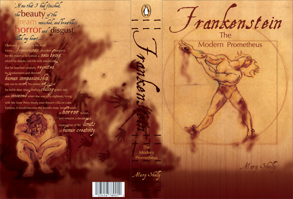 Frankenstein Book Cover Art : Frankenstein bookcover projec by somni sidhe on deviantart