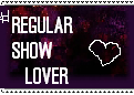 number one RS Lover Stamp by RegularShowCP