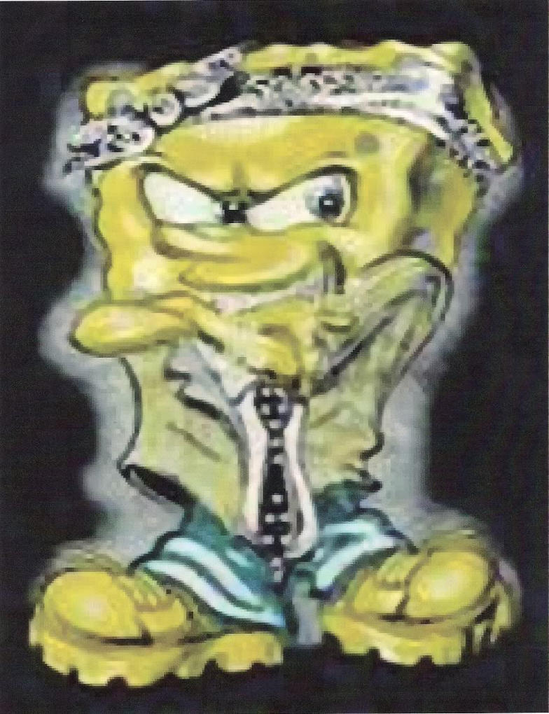 Spongebob Gangster