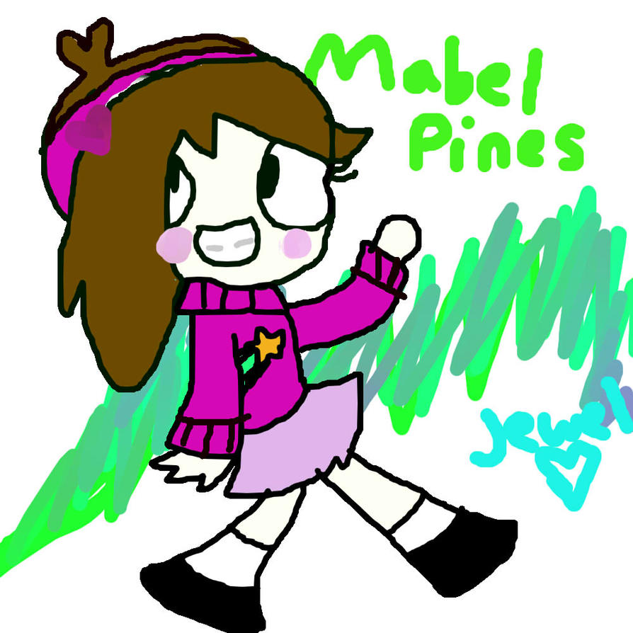 Mabel Pines by RegularShowCP