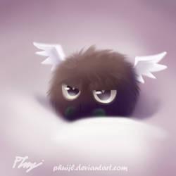 Angry Hane Kuriboh by PhuiJL