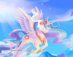 Princess Celestia by PhuiJL