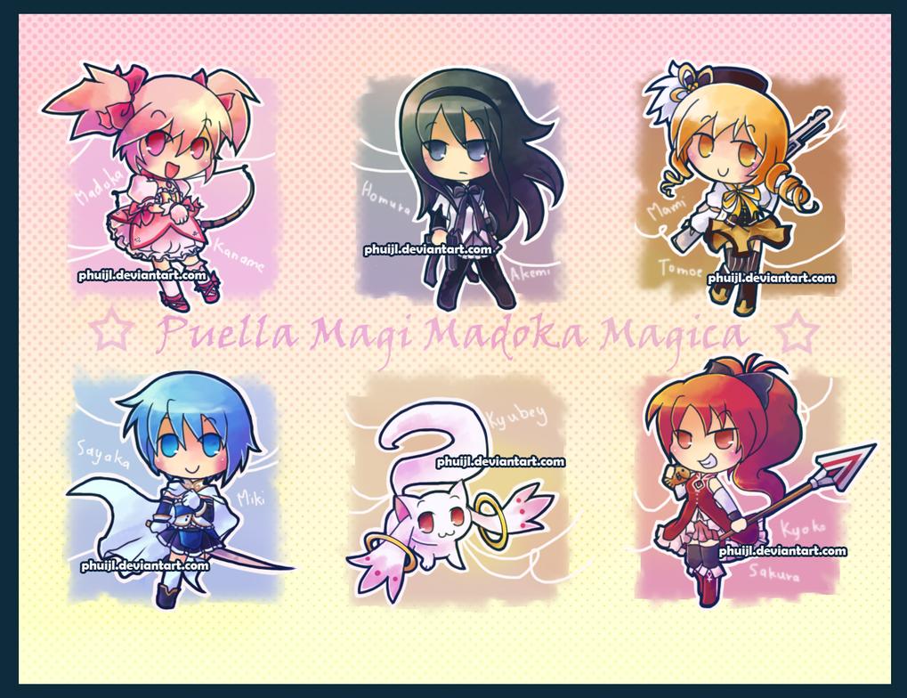 Puella Magi Madoka Magica By PhuiJL