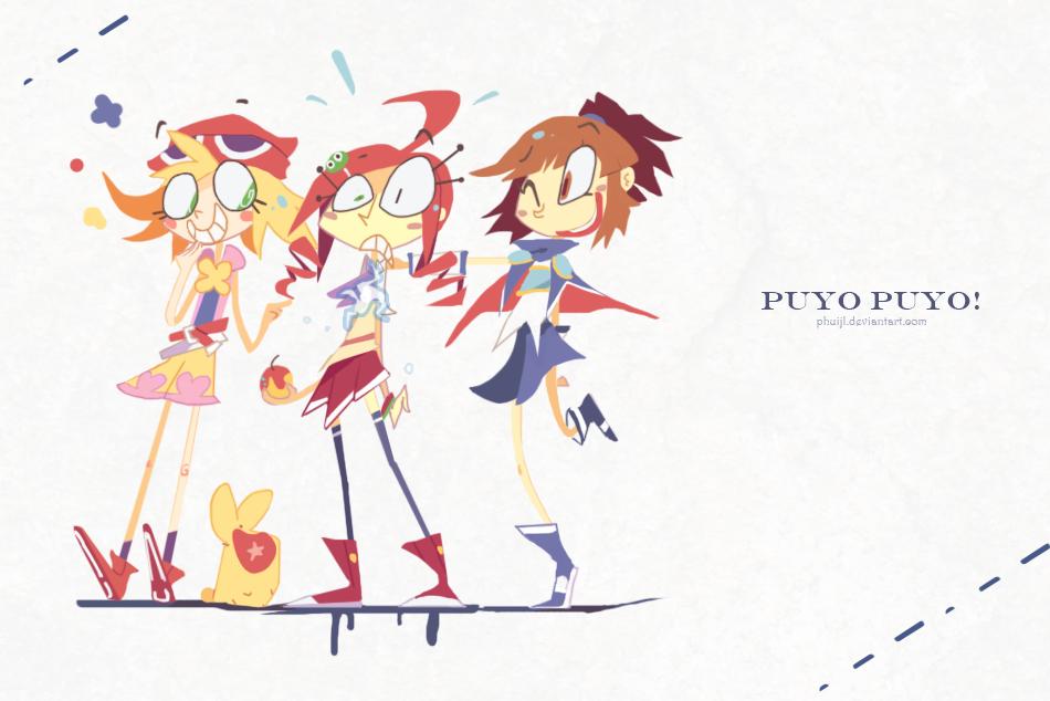 Puyo Puyo by PhuiJL