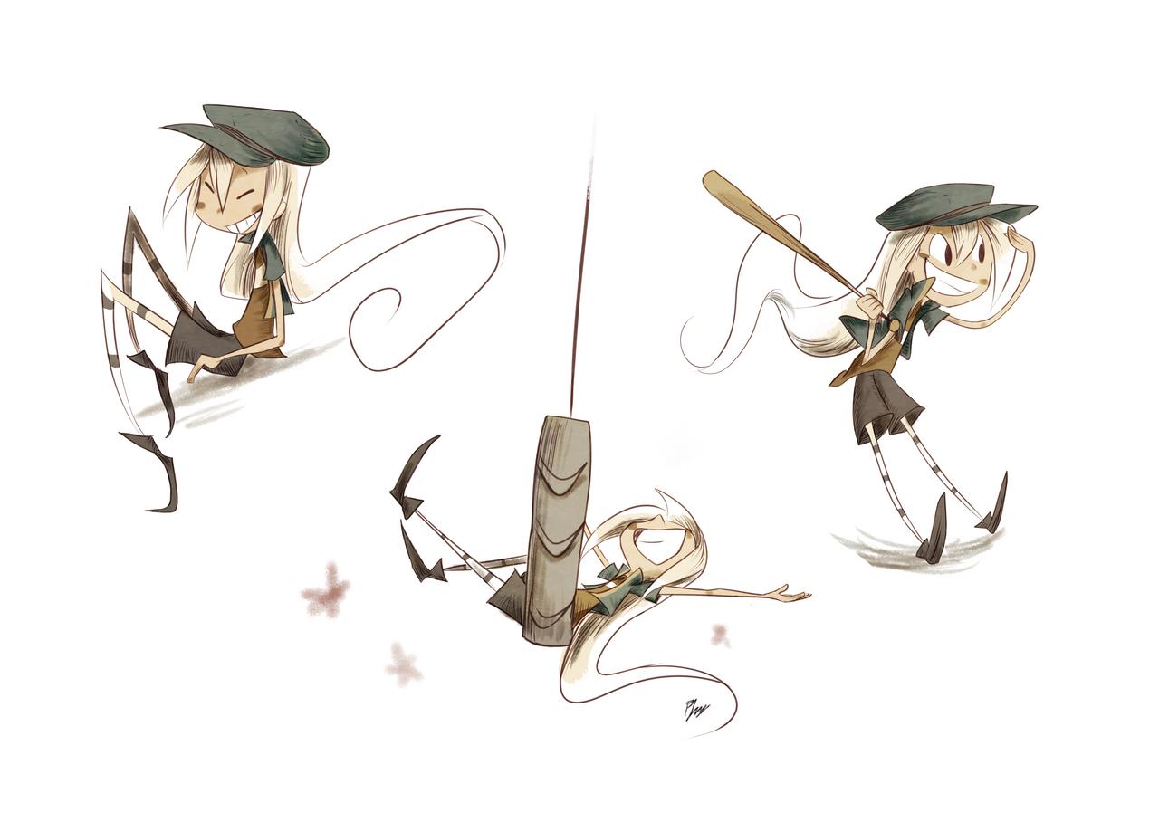 Baseball Gal by PhuiJL
