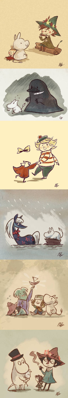 Moomin Days by PhuiJL