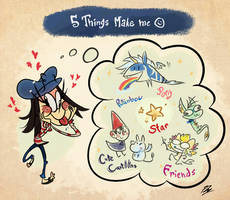 5 Things that Make me :) by PhuiJL