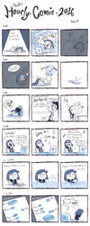 Hourly Comic 2016 by PhuiJL