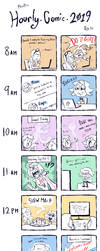 Hourly Comics Day 2019 by PhuiJL