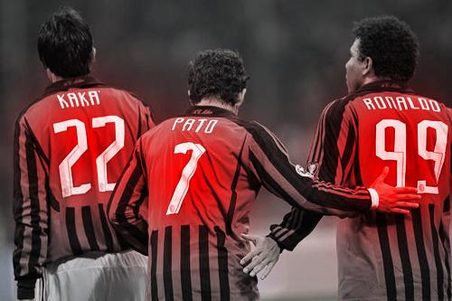 AC Milan Ronaldo Kaka Pato by pollo0389