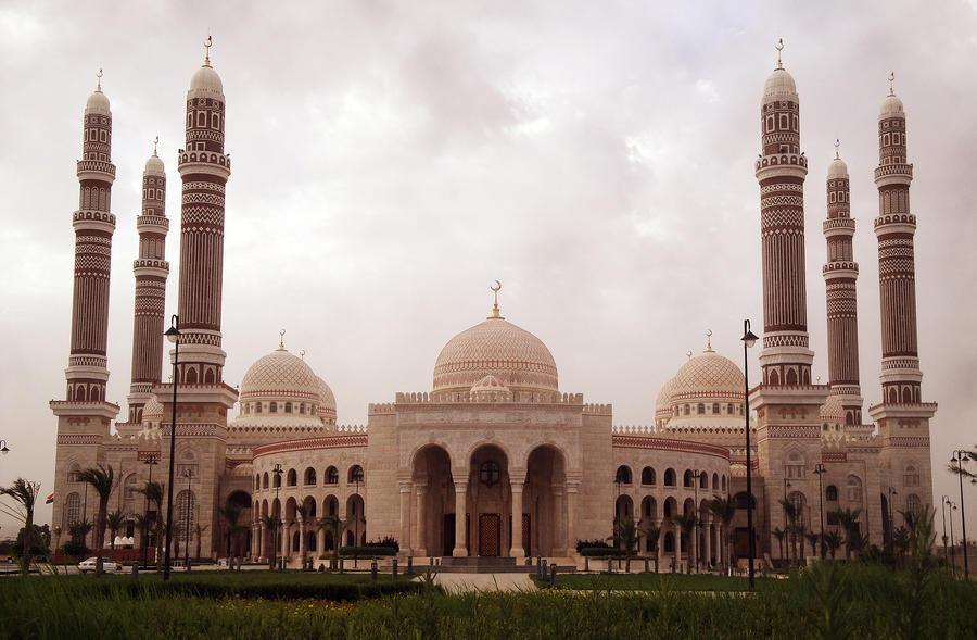 Al-Saleh mosque by Ebrahim-des