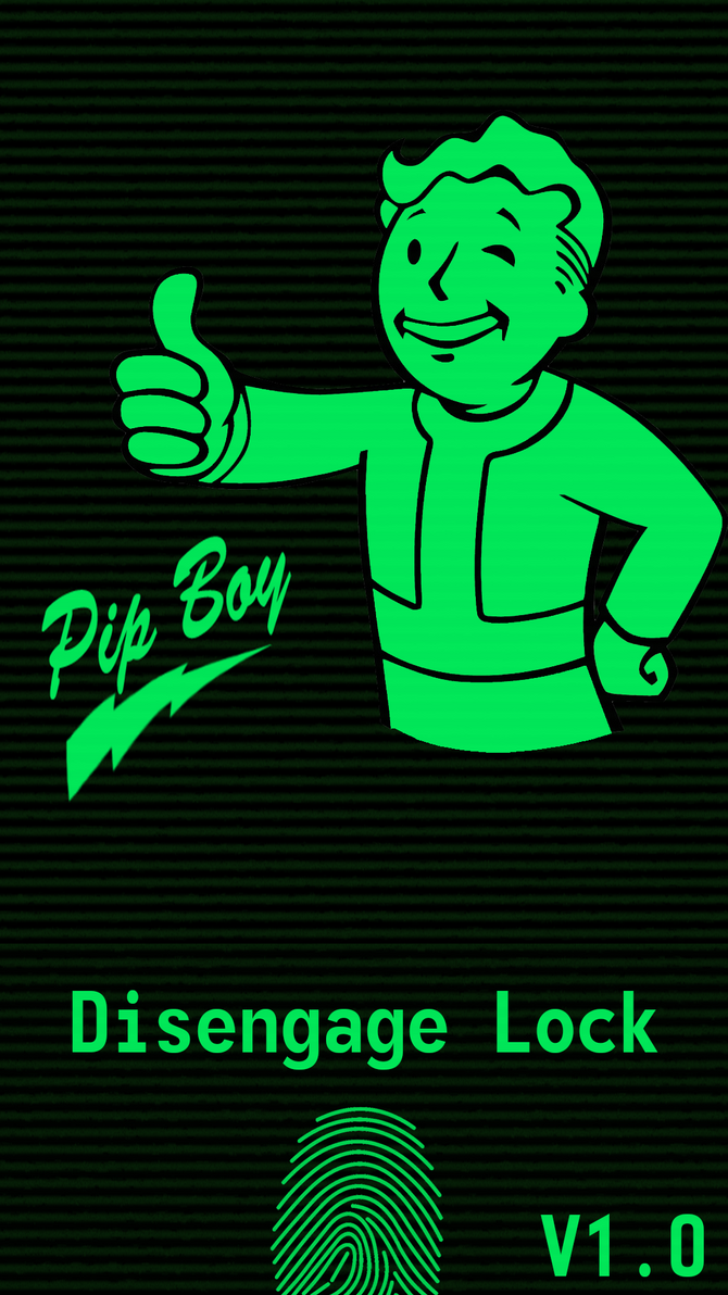 Samsung S5 With Fingerprint Pipboy Wallpaper By Harknus