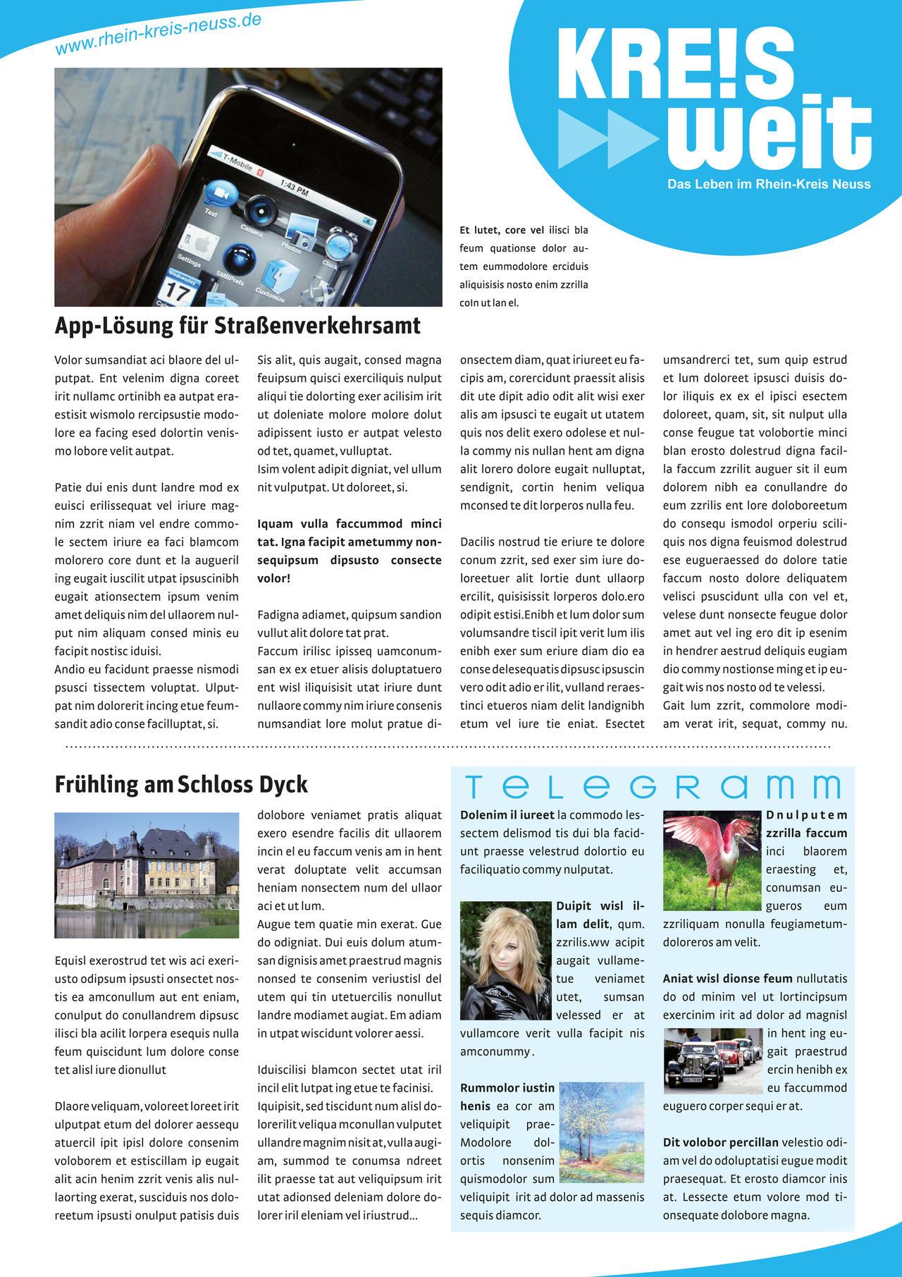 Magazine Page Layout by Val-Melkor on DeviantArt