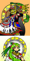 Five Suns by nosuku-k