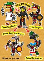 Tezcatlipoca's fashion by nosuku-k