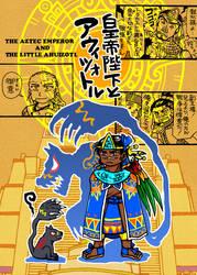 MANGA The Aztec emperor and the little ahuizotl