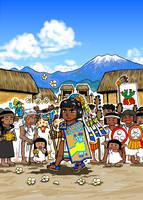The first king, Tlatoani Acamapichtli has come! by nosuku-k
