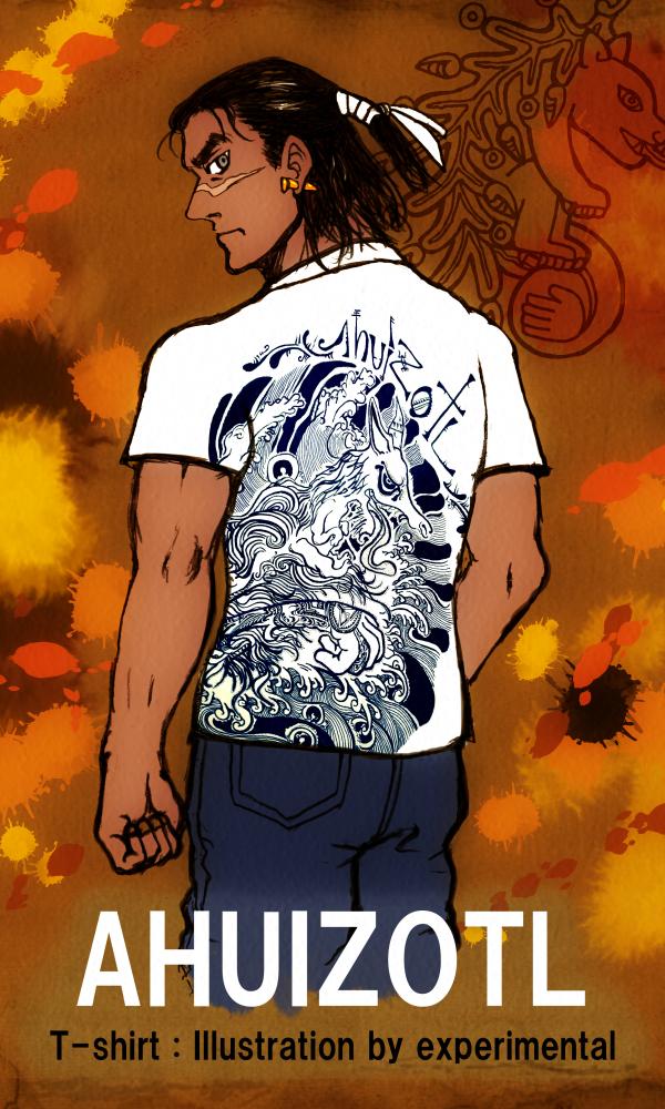 experimental-san's ahuizotl T-shirt by nosuku-k