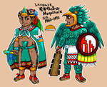 The tlatoani of Tlatelolco, Moquihuix