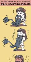 MANGA The princess tries to lift the ahuizotl by nosuku-k