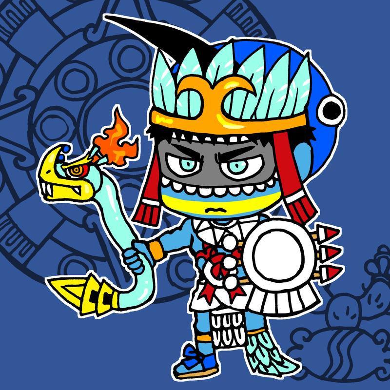 Huitzilopochtli20171013 by nosuku-k