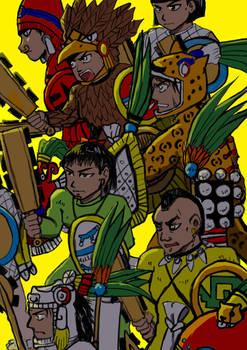 Aztec warriors 20181126